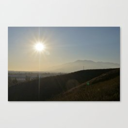 Valley of the Smokes Canvas Print