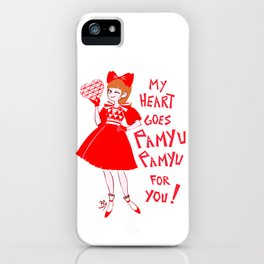 My heart goes Pamyu Pamyu for You iPhone Case