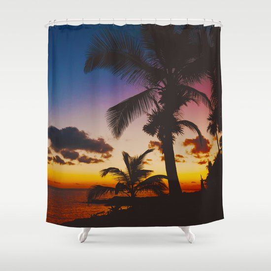 Palm Spring Shower Curtain