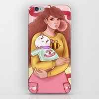 puppycat iPhone & iPod Skins featuring Bee and Puppycat by MW Illustration