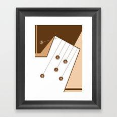 Motion. Framed Art Print