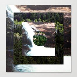 TREE FALLS Canvas Print