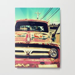 Old Things Are The Best Things Metal Print