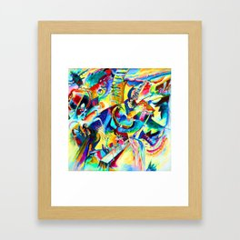 Wassily Kandinsky Improvisation Gorge Framed Art Print