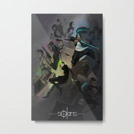 Solaris Metal Print
