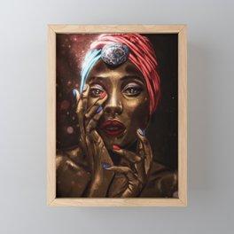 American Gemstone Framed Mini Art Print