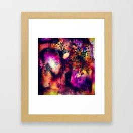 Acid Bacteria Framed Art Print