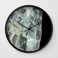 glass Wall Clocks featuring Glass by Roser Arques