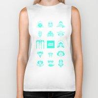 starwars Biker Tanks featuring StarWars icon by SUSANNA CONTOLI
