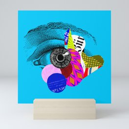 Let's Talk Mini Art Print