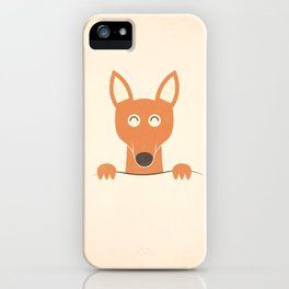 Pocket Kangaroo iPhone Case