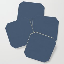 Simply Indigo Blue Coaster