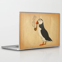marianna Laptop & iPad Skins featuring Puffin' by Megs stuff