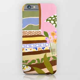 Swimming Pool iPhone Case