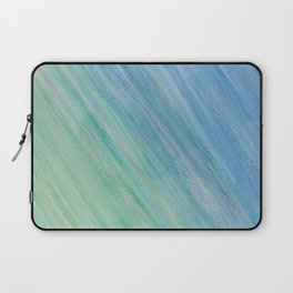 Greens and Blue Laptop Sleeve