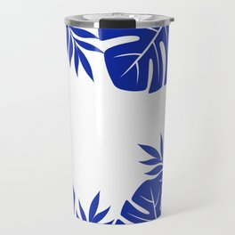 Paradise in cobalt Travel Mug