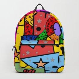 Love Popart by Nico Bielow Backpack