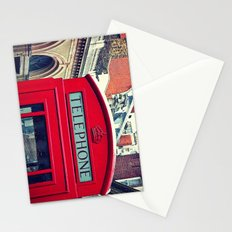 'LONDON PHONE BOX' Stationery Cards