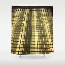 Ice Cubes. Fashion Textures Shower Curtain