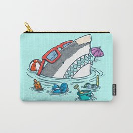 Beach Party Shark Carry-All Pouch