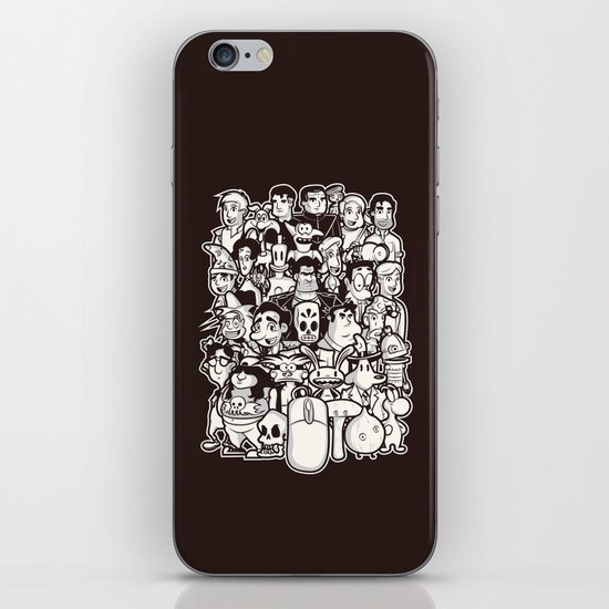 Point and Click  iPhone & iPod Skin