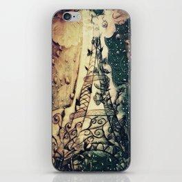 Paris Rain iPhone Skin