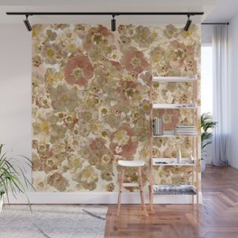 To mutch flowers Wall Mural