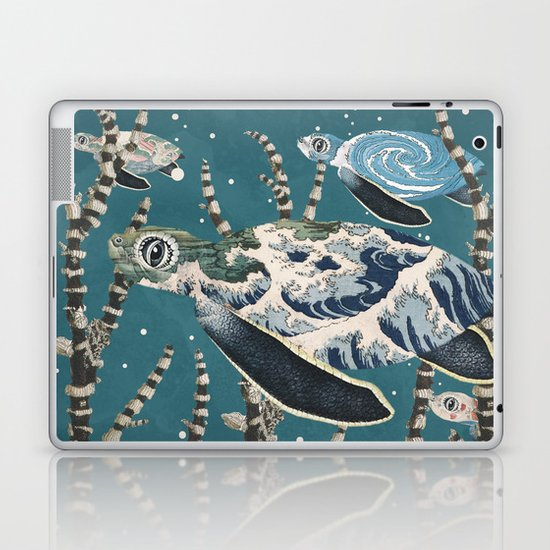 Turtle Migration Laptop & iPad Skin