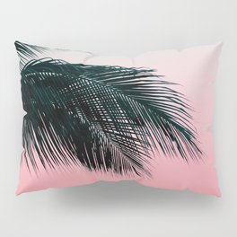 Palms Leaves Sunset Pillow Sham