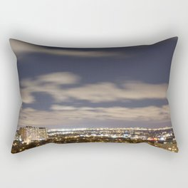 City Lights. Rectangular Pillow