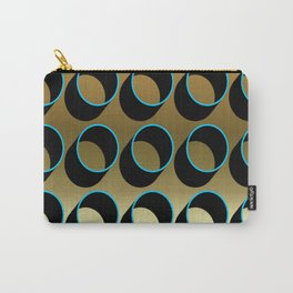 Tubes on Gold Carry-All Pouch