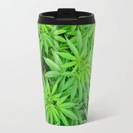 Marijuana Cannabis Weed Pot Plants Travel Mug