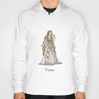 valar morghulis Hoodies featuring Vana by wolfanita