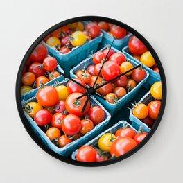 Fresh Tomatoes Wall Clock