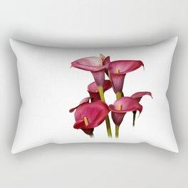 Purple Calla Lilies Rectangular Pillow