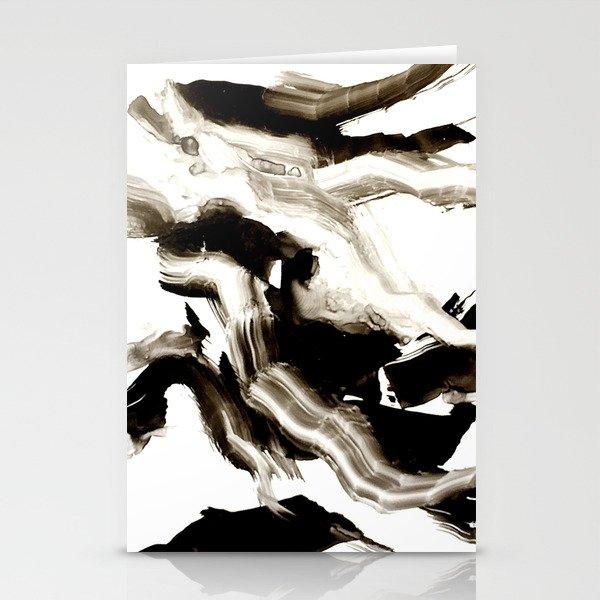 Black + White 3 Stationery Cards