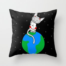 I'm On Top Of The World Throw Pillow