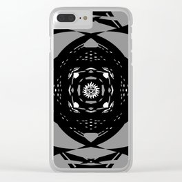 """Paranormal"" - (Original Digital Artwork by Vincent Ferraro) Clear iPhone Case"