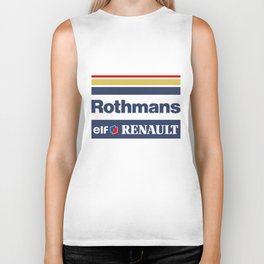 Williams F1 Rothmans Ayrton Senna Biker Tank