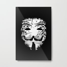 The Mask - Landscape Metal Print