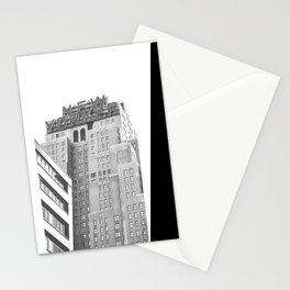 New Yorker Sign - NYC Black and White Stationery Cards