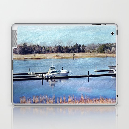 Charleston Boat Laptop & iPad Skin