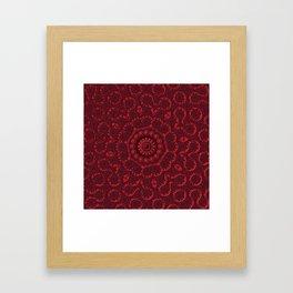 Belated Valentine Framed Art Print