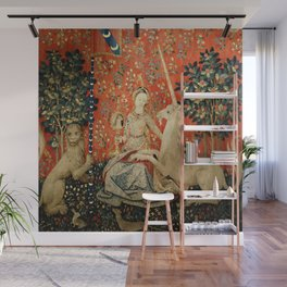 Lady and The Unicorn Sight Wall Mural