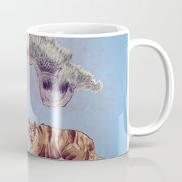 bonzai and tiger Coffee Mug
