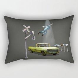 Beam me up Rectangular Pillow