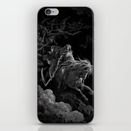Death on the Pale Horse resized - Dore iPhone Skin