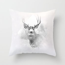 OH DEER ! Throw Pillow