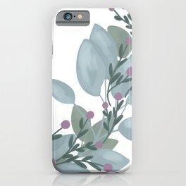 Winter Wreath iPhone Case