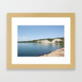 AFE The Bluffs Framed Art Print